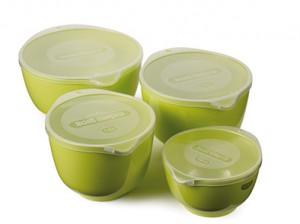 Margretheskålar limegrön